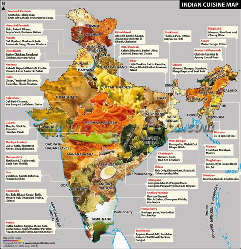 indian cuisine indian cuisine map indian food