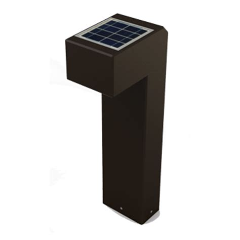 s7 solar led bollard path light ledpavers premium