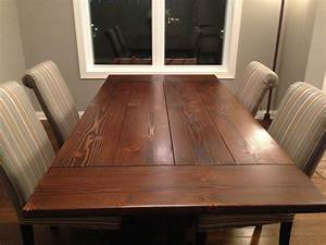 Custom 7' Farmhouse Trestle Table With Breadboard Ends by
