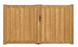 Portail En Bois Pas Cher : portail bois plein pas cher portail bois grenoble ~ Melissatoandfro.com Idées de Décoration