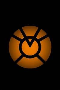 Orange Lantern Logo Background 2 by KalEl7 on DeviantArt