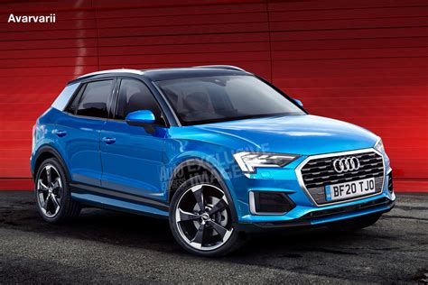new audi q1 suv set to arrive in 2020 auto express