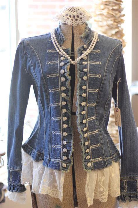 diese jean jacket bringt  die komplimente upcycled