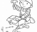 Coloring Pages Tools Construction Science Site Tool Signs Handy Manny Getcolorings Gardening Box Printable Print Colorings Getdrawings December sketch template