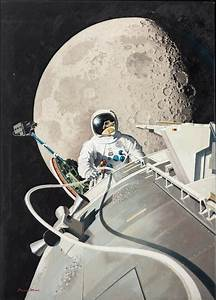 The EVA of Astronaut James Irwin | National Air and Space ...