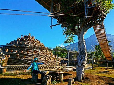 rumah pohon desa batu dawa keunikan berbeda  karangasem