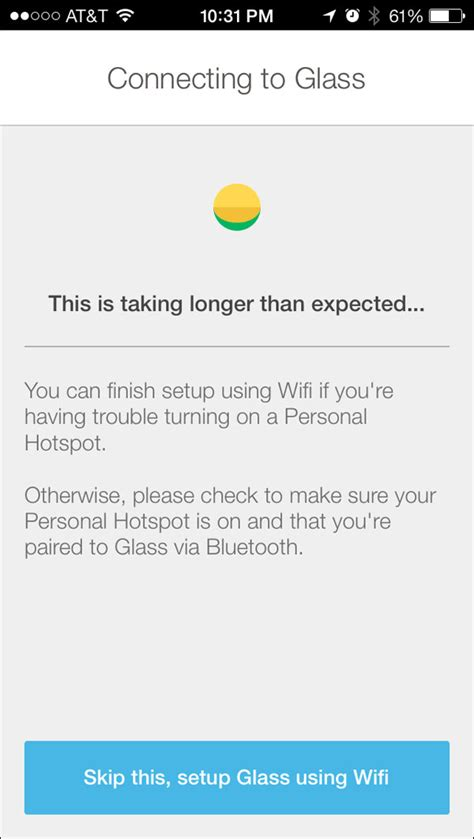 personal hotspot app for android myglass for ios released but doesn t match android
