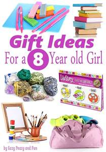 gifts for 8 year old girls birthdays and christmas easy peasy and fun