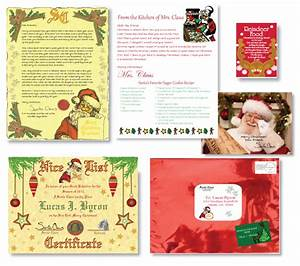 sealed by santa personalized packages from santa to your With best santa letter packages