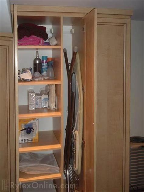 Ironing Board Cabinet With Storage by Ironing Board Storage Wash Day Blues Pinterest