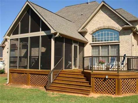 Building A Sunroom by What Is The Difference In A Screened Porch A 3 Season