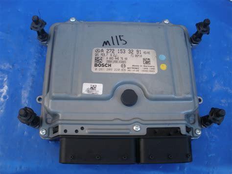 Mercedes Benz-engine Control Unit Computer Ecu-2721533291