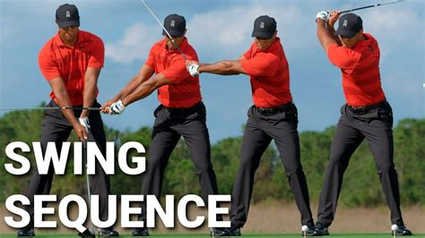 Tiger Woods Driver Swing Sequence and Slow Motion - FOGOLF