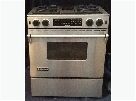 Jenn Air Stainless Steel Dual Fuel Range South Regina, Regina
