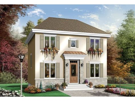 modern georgian style front exterior colonial house plans french country house plans