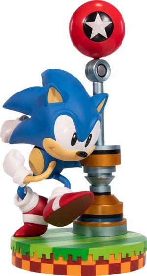 sonic  hedgehog statue    figures sideshow
