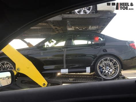 bmw   competition package spotted  accident
