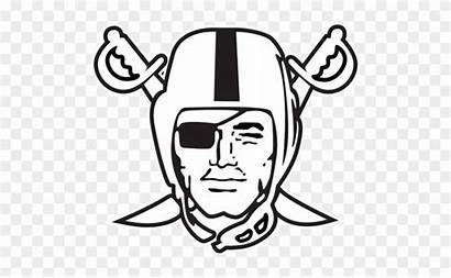 Raiders Raider Oakland Coloring Outline Bing Clipartmax
