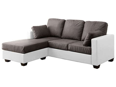 canape avec meridienne conforama canapé idées de