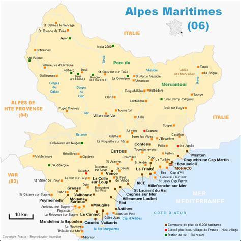 cours de cuisine alpes maritimes carte des alpes maritimes voyages cartes
