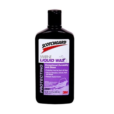 scotchgard marine liquid wax 3m united states