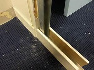 comment condamner proprement une porte avec du placo With comment reboucher une porte
