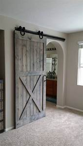 half x sliding barn door by plankandchisel on etsy https With agricultural sliding doors