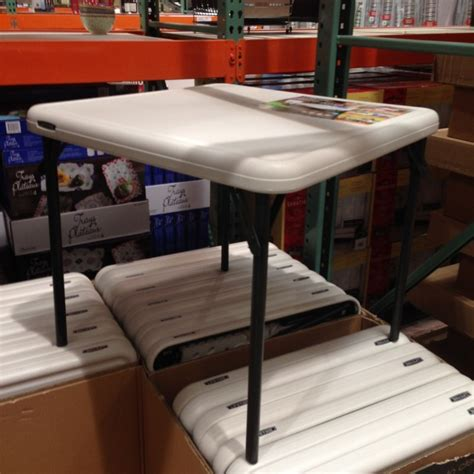 costco folding table lifetime ft folding table with