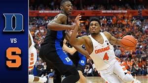 Duke vs. Syracuse Men's Basketball Highlights (2016-17 ...