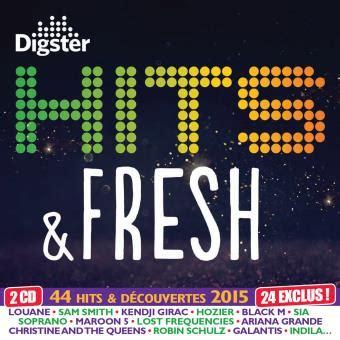 cuisine smith avis hits fresh 2015 by digster 2 cd cristal cd album en