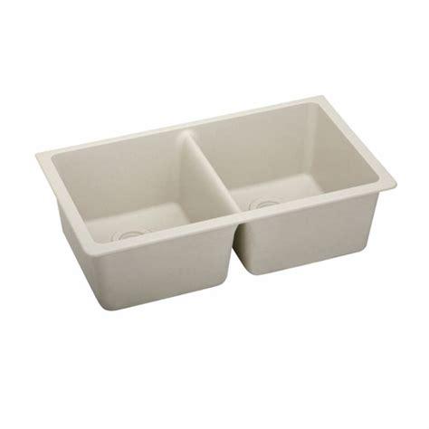 elkay granite bar sinks elkay elgu3322bq0 bisque gourmet 33 quot basin granite