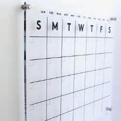etsy acrylic wall calendar