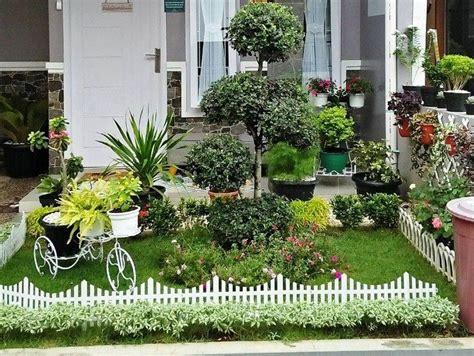 contoh gambar taman rumah minimalis taman