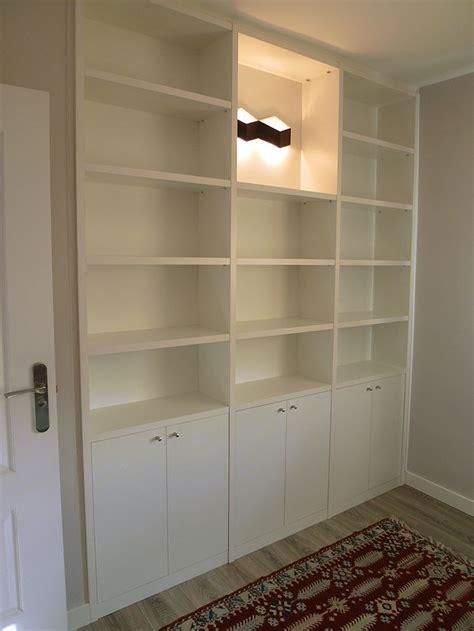 libreria blanca  puertas ebanisteria manuel kuperman