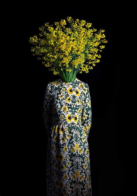 fashionably dressed flowers  miguel vallinas