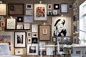 Bilder An Der Wand : gem lde drucke fotografien auf farbigen w nden ~ Lizthompson.info Haus und Dekorationen