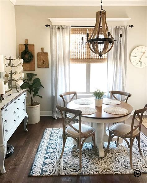 Farmhouse Dining Room Decorating Ideas by Stunning Rustic Farmhouse Dining Room Decor Ideas 2