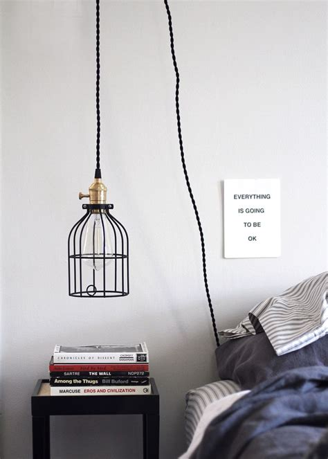 how to hang pendant lights diy hanging pendant light from color cord company anne sage