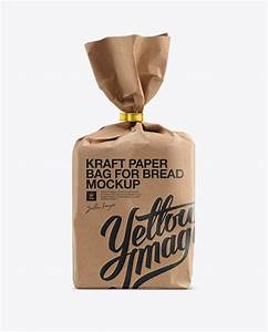 76 best bakery mockups images on pinterest brown bags With bread packaging design template