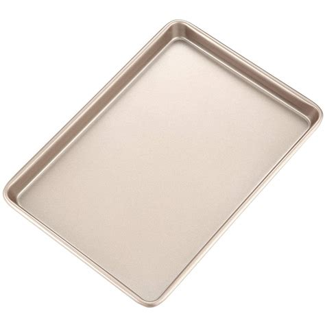 baking rimmed pan roasting sheet chefmade sheets inch champagne gold money