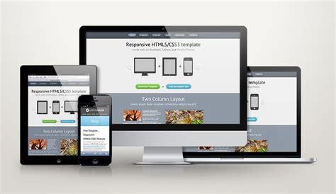 responsive design zehn kostenlose webdesign templates tn