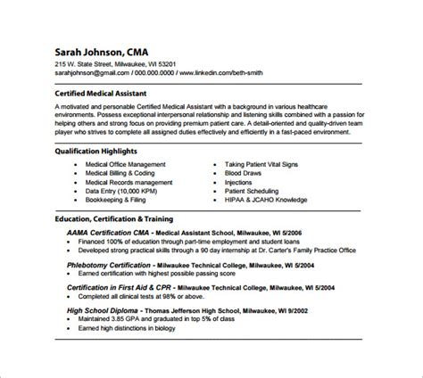 16986 assistant resume template free resume templates for certified assistant krida info
