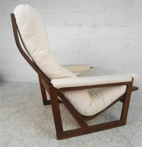 modern lounge chair with ottoman unique mid century modern teak frame lounge chair with