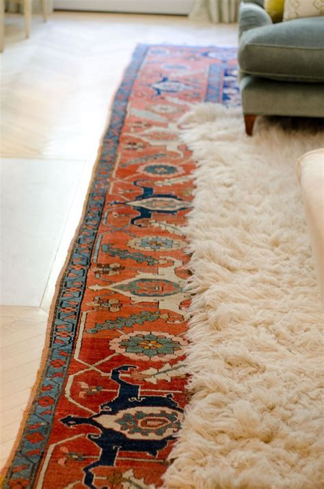 loving layered rugs red house west