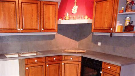 renovation cuisine plan de travail transformer intérieur grâce au béton ciré