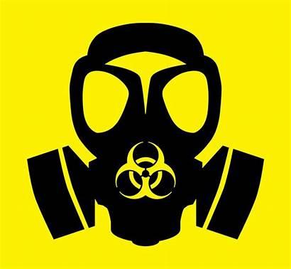 Mask Gas Hazard Symbol Bio Drawing Dis