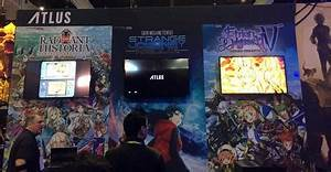 Atlus USA Booth At Electronic Entertainment Expo 2017