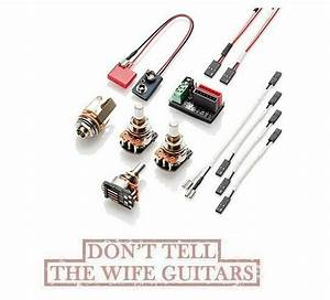 Emg Solderless Active Conversion Wiring Kit J Set Jazz