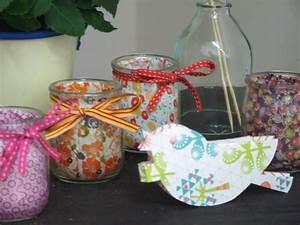 Pot En Verre Deco : diy recyclage pot yaourt en verre mamzelle deco ~ Melissatoandfro.com Idées de Décoration