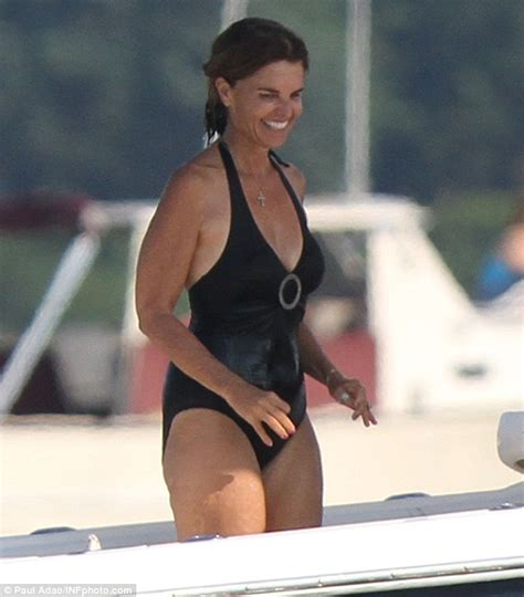 Maria Shriver reveals flawless swimsuit body at 56 as she ...